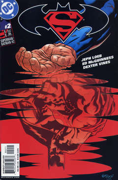 Copertina SUPERMAN BATMAN n.2 - The World's Finest, Part Two: Early Warning, DC COMICS