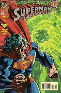 Copertina SUPERMAN MAN OF STEEL n. - Peer Pressure Part 1 : A Whole New World, DC COMICS
