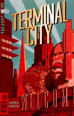 Copertina TERMINAL CITY  M9 n.1 - TERMINAL CITY  m9            1, DC COMICS