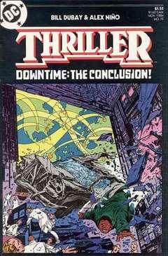 Copertina THRILLER M12 n.12 - New Year's Resolution, DC COMICS