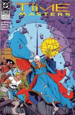 Copertina TIME MASTERS M8 n.7 - Long Time Coming, DC COMICS