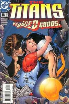 Copertina TITANS n.18 - Prisoners of War, DC COMICS
