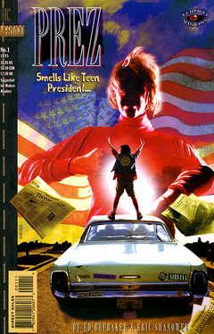 Copertina VERTIGO VISIONS-PREZ n. - Smells Like Teen President, DC COMICS