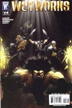 Copertina WETWORKS 2006 n.14 - Unholy War, Part Two, DC COMICS