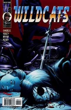 Copertina WILDCATS II n.5 - Coda-fied, DC COMICS