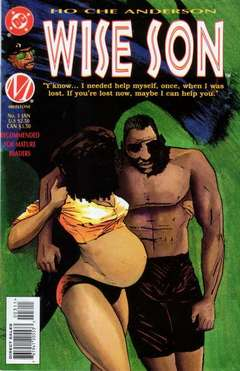 Copertina WISE SON WHITE WOLF M4 n.3 - Once, When I Was Lost, DC COMICS