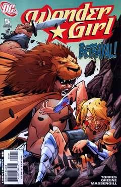 Copertina WONDER GIRL M6 n.5 - Part 5: Clash of the Titans, DC COMICS