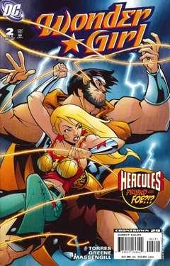 Copertina WONDER GIRL M6 n.2 - Part 2: Hercules Unbound, DC COMICS