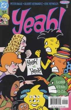 "Copertina YEAH! n.9 - Make Way for ""!haeY"", DC COMICS"