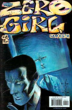 Copertina ZERO GIRL M5 n.4 - ZERO GIRL M5                 4, DC COMICS
