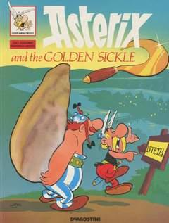 Copertina ASTERIX in inglese brossurati n.2 - ASTERIX AND THE GOLDEN SICKLE, DE AGOSTINI