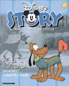 Copertina DISNEY STORY n.31 - 1955 - Un mondo a quattro zampe, DE AGOSTINI