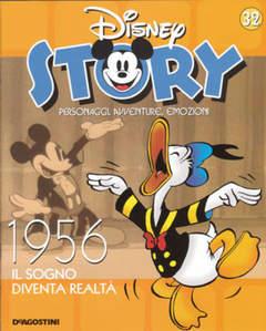 Copertina DISNEY STORY n.32 - 1956 - Il sogno diventa realtà, DE AGOSTINI