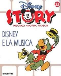 Copertina DISNEY STORY n.33 - Disney e la musica, DE AGOSTINI