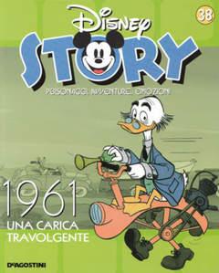 Copertina DISNEY STORY n.38 - 1961 - Una carica travolgente, DE AGOSTINI