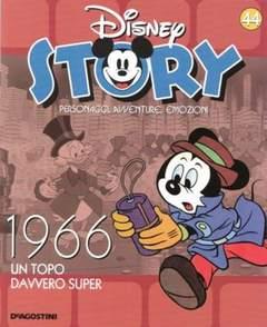 Copertina DISNEY STORY n.44 - 1966 - Un Topo davvero super, DE AGOSTINI