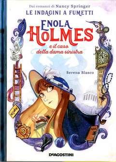 Copertina ENOLA HOLMES Graphic Novel n.2 - IL CASO DELLA DAMA SINISTRA, DE AGOSTINI