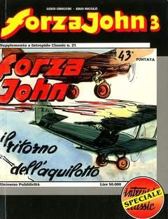 Copertina FORZA JOHN n.3 - FORZA JOHN                   3, DEL DUCA S.r.l. EDIZIONI