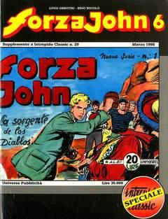 Copertina FORZA JOHN n.6 - FORZA JOHN                   6, DEL DUCA S.r.l. EDIZIONI