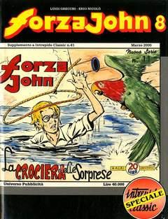 Copertina FORZA JOHN n.8 - FORZA JOHN                   8, DEL DUCA S.r.l. EDIZIONI
