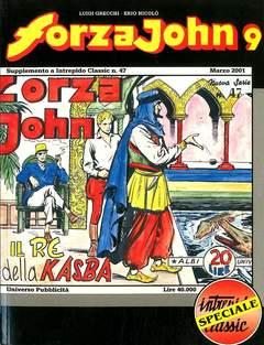 Copertina FORZA JOHN n.9 - FORZA JOHN                   9, DEL DUCA S.r.l. EDIZIONI