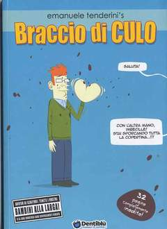 Copertina Dentiblu' Humour n.0 - BRACCIO DI CULO, DENTIBLU EDITORE