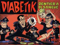 Copertina CLERVILLE BOOK n.7 - DIABETIK: DENTIERA DI SANGUE, DIABOLIK CLUB