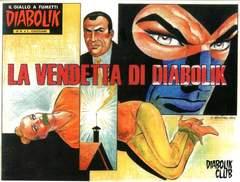 Copertina CLERVILLE BOOK n.6 - LA VENDETTA DI DIABOLIK, DIABOLIK CLUB