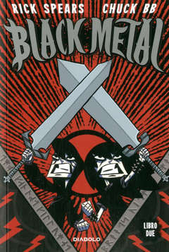 Copertina BLACK METAL n.2 - BLACK METAL, DIABOLO EDIZIONI