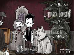 Copertina GIOVANE LOVECRAFT n.3 - IL GIOVANE LOVECRAFT, DIABOLO