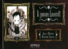Copertina GIOVANE LOVECRAFT Ristampa n.1 - IL GIOVANE LOVECRAFT - Ristampa, DIABOLO