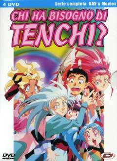 Copertina Animazione giapponese n.6 - Chi Ha Bisogno Di Tenchi? - Serie Completa Oav + 2 Film (4 Dvd), DYNIT SRL