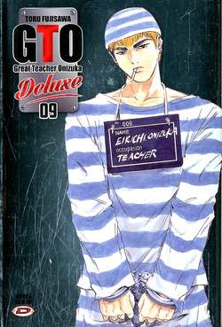Copertina BIG GTO Deluxe (m13) n.9 - GREAT TEACHER ONIZUKA, DYNIT SRL
