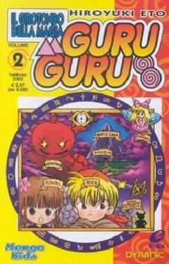 Copertina GURU GURU GIROTONDO DELLA MAGIA n.2 - GURU GURU, DYNIT SRL