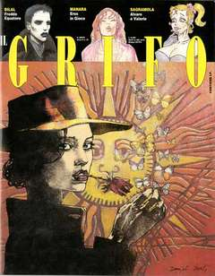 Copertina GRIFO n.19 - IL GRIFO                    19, EDITORI DEL GRIFO