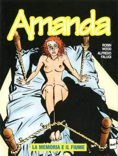 Copertina AMANDA n.14 - LA MEMORIA E IL FIUME, EDITORIALE AUREA