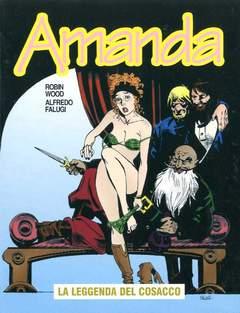 Copertina AMANDA n.27 - LA LEGGENDA DEL COSACCO, EDITORIALE AUREA