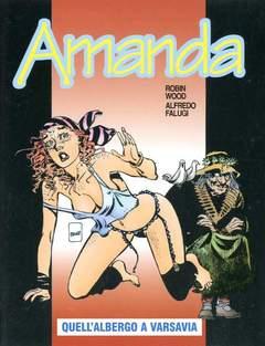 Copertina AMANDA n.28 - QUELL'ALBERGO A VARSAVIA, EDITORIALE AUREA