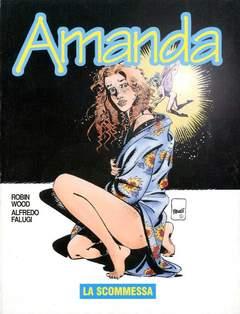 Copertina AMANDA n.39 - LA SCOMMESSA, EDITORIALE AUREA