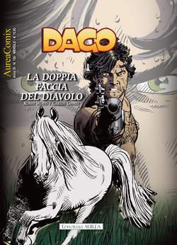 Copertina AUREACOMIX n.106 - LA DOPPIA FACCIA DEL DIAVOLO, EDITORIALE AUREA