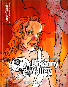 Copertina AUREACOMIX n.107 - UNCANNY VALLEY 2, EDITORIALE AUREA