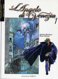 Copertina AUREACOMIX n.18 - L'ANGELO DI VENEZIA, EDITORIALE AUREA