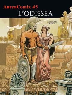 Copertina AUREACOMIX n.45 - L'ODISSEA, EDITORIALE AUREA