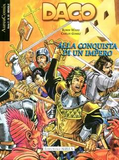 Copertina AUREACOMIX n.50 - ALLA CONQUISTA DI UN IMPERO, EDITORIALE AUREA