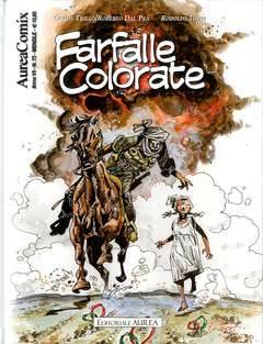 Copertina AUREACOMIX n.73 - FARFALLE COLORATE 1, EDITORIALE AUREA