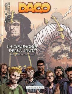 Copertina AUREACOMIX n.93 - LA COMPAGNIA DELLA SPADA, EDITORIALE AUREA