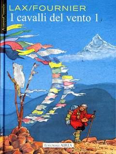 Copertina AUREACOMIX n.4 - I CAVALLI DEL VENTO, EDITORIALE AUREA