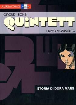 Copertina AUREACOMIX LINEA BD n.21 - STORIA DI DORA MARS, EDITORIALE AUREA