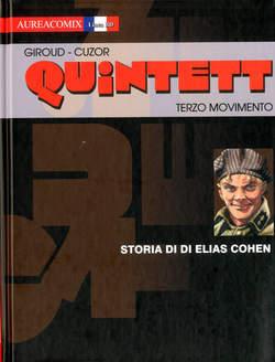 Copertina AUREACOMIX LINEA BD n.26 - STORIAN DI ELIAS COHEN, EDITORIALE AUREA