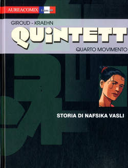 Copertina AUREACOMIX LINEA BD n.28 - STORIA DI NAFSIKA VASLI, EDITORIALE AUREA